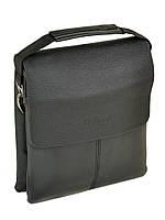 Мужская сумка DR. BOND 21*25*5 кожаный клапан, фото 1