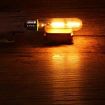 T10 E27 1.8W Теплый белый 200LM COB LED Лампа накаливания Retro Edison Лампа AC110-240V - 1TopShop, фото 2