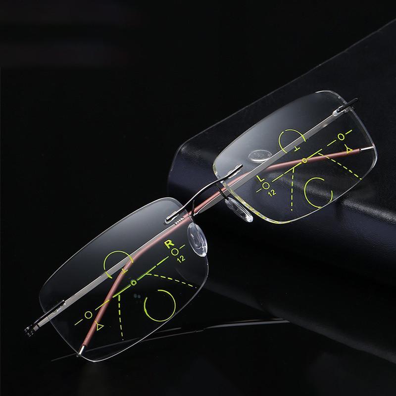 Унисекс Ультралегкий Умный Многофункциональный Пресбиопический Чтение для близкого использования Очки Защита глаз Очки - 1TopShop