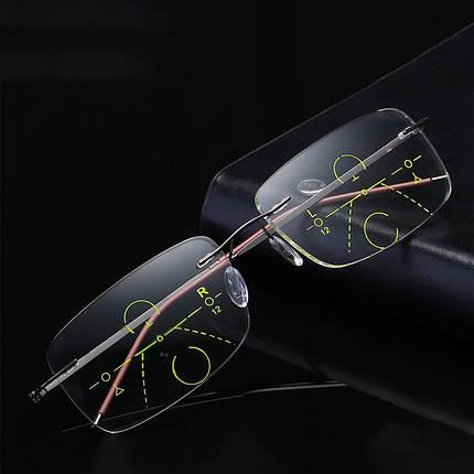 Унисекс Ультралегкий Умный Многофункциональный Пресбиопический Чтение для близкого использования Очки Защита глаз Очки - 1TopShop, фото 2