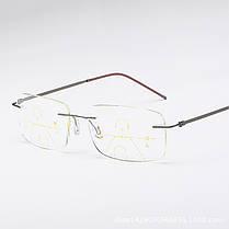 Унисекс Ультралегкий Умный Многофункциональный Пресбиопический Чтение для близкого использования Очки Защита глаз Очки - 1TopShop, фото 3