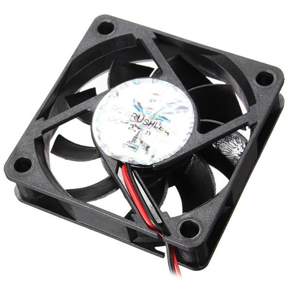 60 мм х 60 мм х 15 мм 12v 4-контактный разъем настольного вентилятора внутреннего компьютера охлаждения процессора кулер вентилятор - 1TopShop