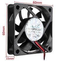 60 мм х 60 мм х 15 мм 12v 4-контактный разъем настольного вентилятора внутреннего компьютера охлаждения процессора кулер вентилятор - 1TopShop, фото 2