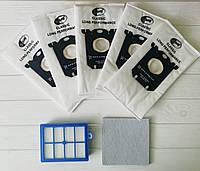 Комплект фильтров для пылесоса Philips  FC9174 FC9170 FC9070 FC9060