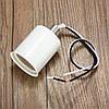 E27 Ретро Винтаж Эдисон Керамический Болт Адаптер лампы круглой формы Повесить Лампа Держатель света Разъем Фитинг - 1TopShop, фото 4