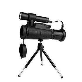 40X60ЗумИнфракрасныйТелескопТелефонаНочного Видения Военный Мощный Цифровой На открытом воздухе Монокуляр Охота - 1TopShop