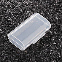 ЖесткийпластикЧехолКрышкана2 слота для хранения Коробка Прозрачная крышка Батарея Держатель для 2 AA AAA Аккумуляторы - 1TopShop, фото 2