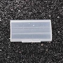 ЖесткийпластикЧехолКрышкана2 слота для хранения Коробка Прозрачная крышка Батарея Держатель для 2 AA AAA Аккумуляторы - 1TopShop, фото 3