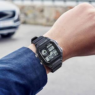 SKMEI1373ОбратныйотсчетКомпасВодонепроницаемы LED Цифровые часы Спортивные мужские наручные часы в стиле - 1TopShop, фото 2