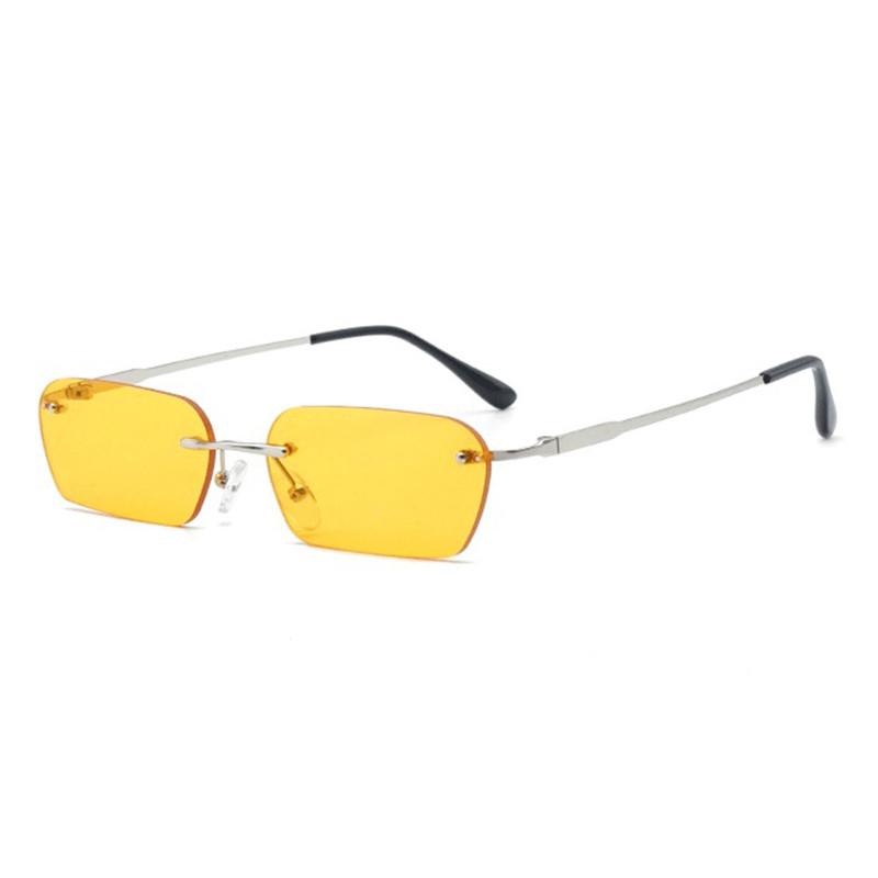 Unisex Vogue Винтаж Солнцезащитные очки Metal Marine без оправы На открытом воздухе Солнечные очки Travel Пляжный - 1TopShop