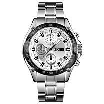 SKMEI1393НержавеющаястальДеловойстиль Водонепроницаемы Дата Дисплей Мужские наручные часы Кварцевые часы - 1TopShop, фото 2