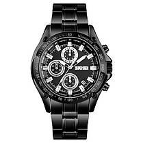 SKMEI1393НержавеющаястальДеловойстиль Водонепроницаемы Дата Дисплей Мужские наручные часы Кварцевые часы - 1TopShop, фото 3