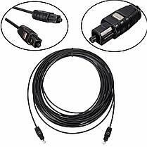 OD2.2 Оптический волоконно-оптический кабель Цифровой аудиовыход Toslink SPDIF Sky 1M 1.5M 2M 5M 10M - 1TopShop, фото 2