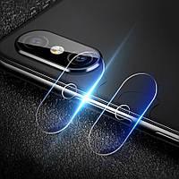 2шт.камераОбъективПротекторSoft Заднее закаленное стекло камера Телефон Объектив для Xiaomi Mi8Pro/Mi8ExplorerEdition - 1TopShop