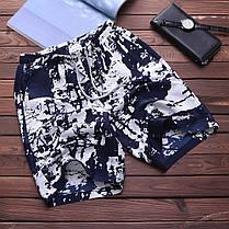 TWO-SIDEDМужскоеколеноДлинаПрямоугольнаяпечать Гавайский стиль Пляжный Шорты для досок - 1TopShop, фото 2