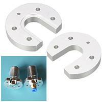 V5 V6 Hotend J-head Алюминиевый радиатор Пластина U-образный для 3D-принтера - 1TopShop