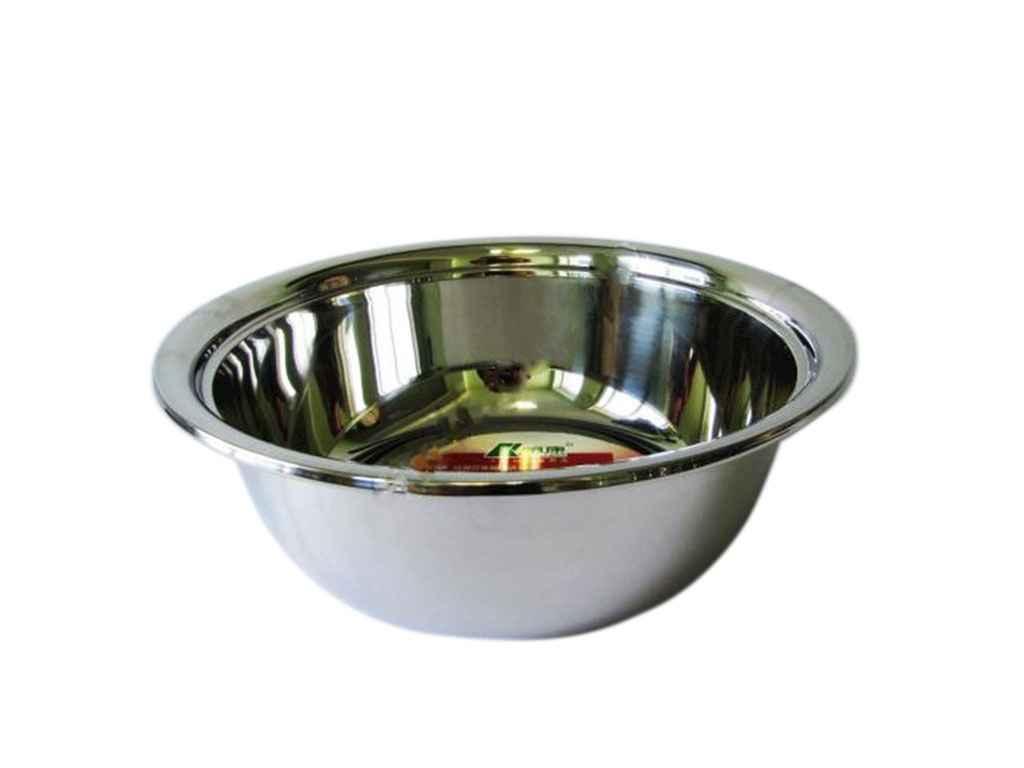 """Нержавеющая миска глубокая 40 см 9 литров VT6-18960 18018 """"VITOL"""""""