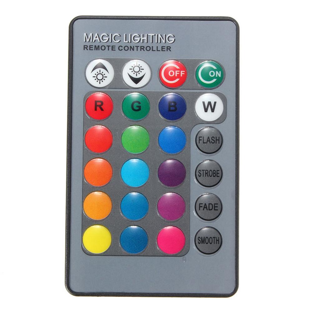 24 Клавиши Дистанционное Управление для RGB LED Газонокосилка Лампа Лампа - 1TopShop