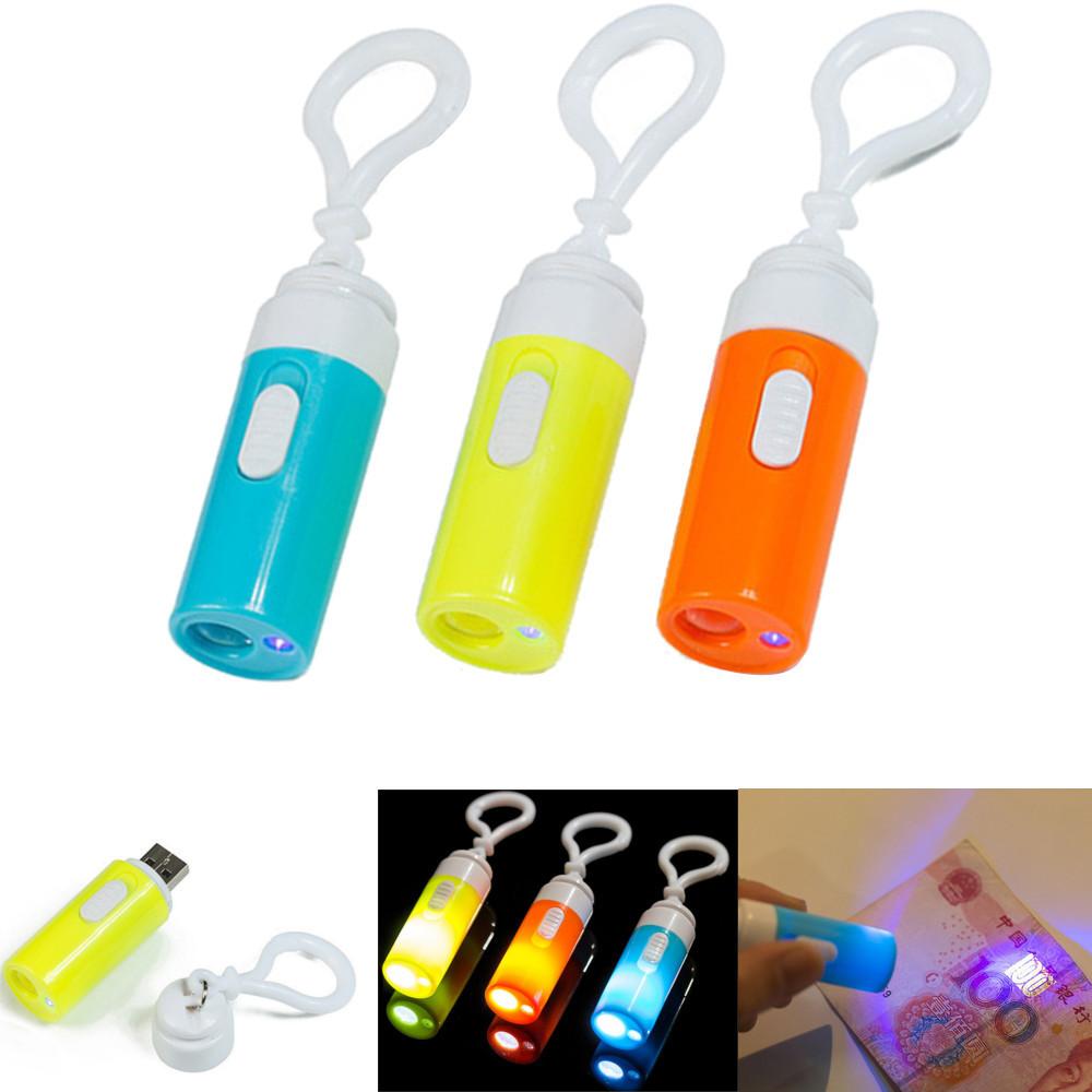 U07Мини-USBUVФлуоресцентнаястерилизацияОбнаружение банкнот Ручка и На открытом воздухе LED Фонарик - 1TopShop