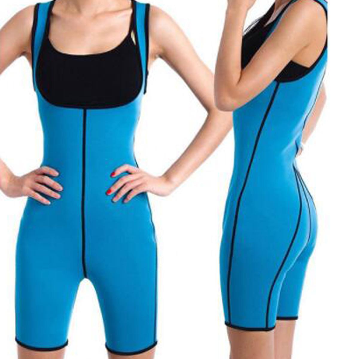 Shapewearженщинвсеготелаформировательпота Фитнес Спортзал Спорт Похудение Keep Fit Сауна Жилет костюм - 1TopShop