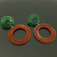 Самые модные серьги кольца