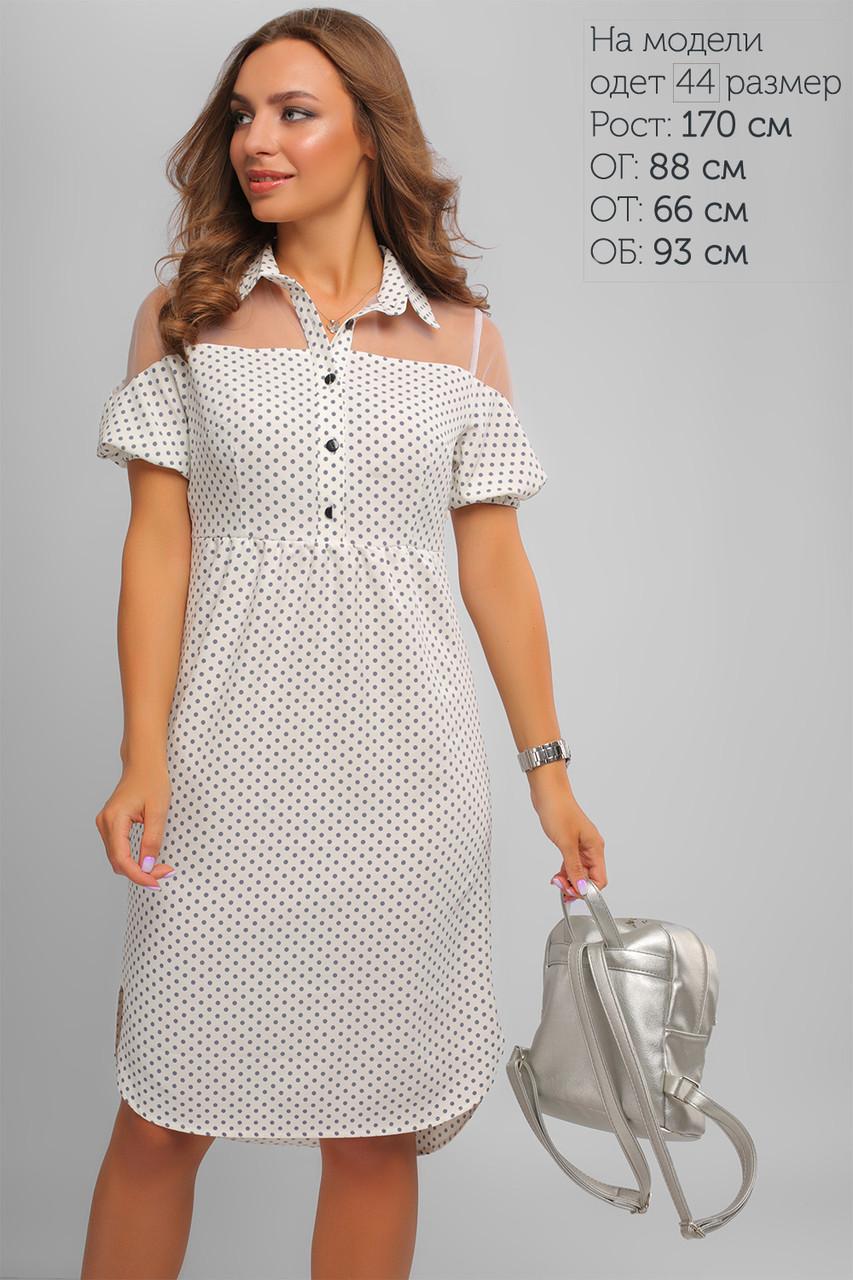 9cd275a90bdc6 Платье в горох Молоко , цена 970 грн., купить в Харькове — Prom.ua ...