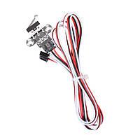 1/5 комплект Механический Модуль концевого выключателя с концевым выключателем и кабелем длиной 1 м для 3D принтера Reprap Ramps 1.4 - 1TopShop