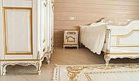 """Спальня из дерева в классическом стиле под заказ """"Наполеон"""". Комплект: кровать, тумба, комод, шкаф, зеркало"""