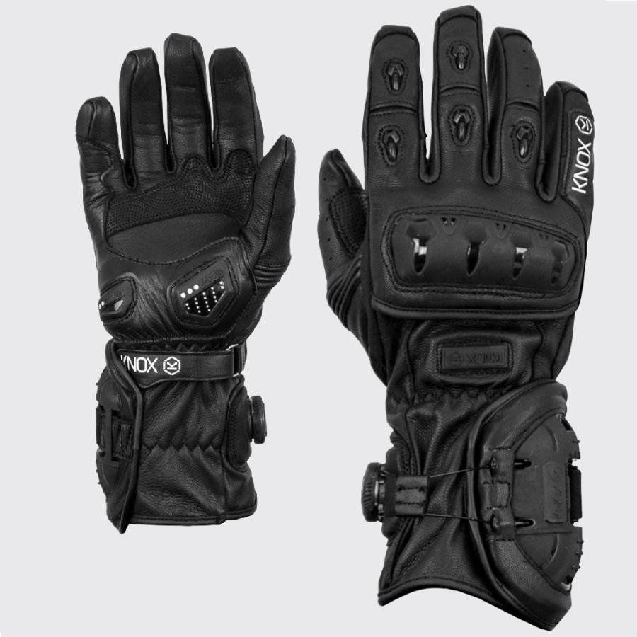 Мотоперчатки Knox  Nexos Black S