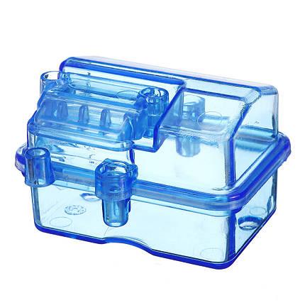 Мини Водонепроницаемы Пластик Прозрачный Приемник Коробка P2047 Для 1/10 RC Short Slash HQ727 - 1TopShop, фото 2