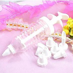 Торт Шелковый Цветок Инструмент Трубка для обледенения - 1TopShop, фото 2