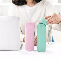 Переносная чашка для творога из пшеничной соломы - 1TopShop, фото 2