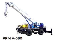 Аренда пневмоколесного дизельного крана PPM A-580