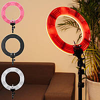 14''5500KFillLightDimmable LED Кольцо Штатив камера Регулируемый селфи Лампа Макияж Зеркальный свет - 1TopShop