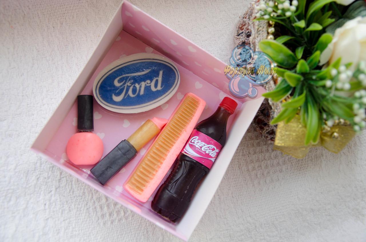 """Подарочный набор мыла """"Ford"""" для женщины"""