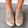 ПлатформабольшогопальцаногиPeepToe сотка Сандалии для Женское - 1TopShop, фото 2