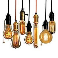 110v 220v лампа накаливания промышленные лампы накаливания E27 ретро старинные 40w электрическая лампочка Эдисона - 1TopShop