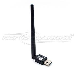 Wi-Fi USB адаптер до 150MB, 802.11 bgn з антеною 2DBI, бездротової адаптер Wi-Fi, фото 2