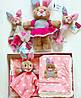 Одеяло-плед двухстороннее Minky Джулия BabyOno + игрушка, фото 6