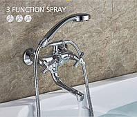 Смеситель для ванны SANTEP 13345 c коротким поворотным носом