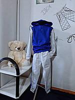 Костюм спортивний дитячий для хлопчика Спортивный костюм с карманами в штанах и капюшоном для мальчика