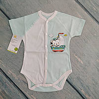 Боди футболка на кнопках на 7-9 месяцев