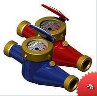 Счетчики холодной, горячей воды MTK-UA Ду15 Ду20, Ду25, Ду32, Ду40, Ду50, Ду65, Ду80, Ду100, Ду150,