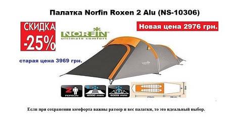 Акция на двух местную палатку Norfin Roxen