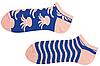 Короткие носки мужские Sammy Icon Octo Short 40-46 Сине-кремовые, фото 3