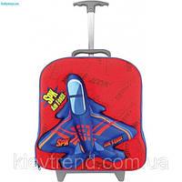 """Детский дорожный чемодан на колесах """"Самолеты"""""""