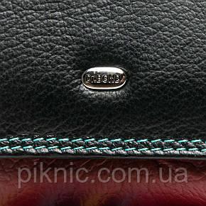 Женский кожаный кошелек, клатч, портмоне Dr Bond. Из натуральной кожи. Черный, фото 2