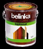 Толстослойная лазурь для дерева BELINKA TOPLASUR (белый) 2,5 л