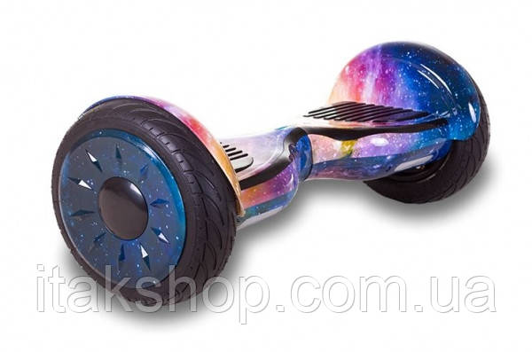 Гироборд Smart Balance Wheel U8 TaoTao APP 10,5 дюймов Space (космос) с самобалансом и колонкой