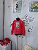 Світшот з  лялькою лол з двонитки різні кольори Детская кофта ручная роспись